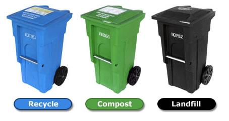 3 Waste Bin