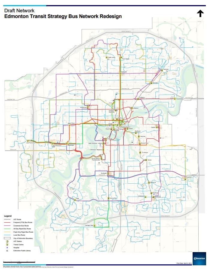 Bus Routes Network - All Routes