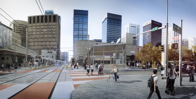 Churchill Rendering for LRT Urban