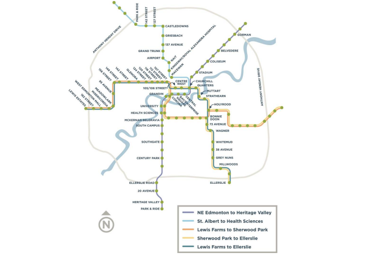 Utilmate LRT Network Plan
