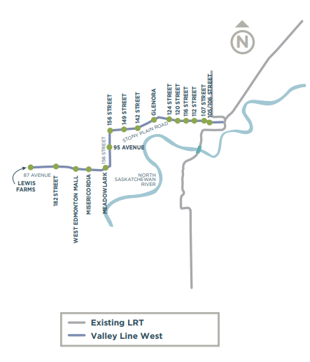 Valley West Proposed Line
